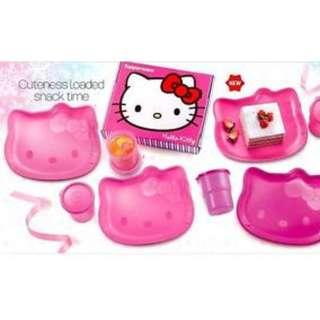 Tupperware Hello Kitty Plates Set (NEW)