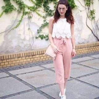💋Terno blouse lace pants...💋Terno (Lace Top+Garter Pants)