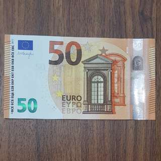 New 2017 Europa Series 50 Euro Banknote
