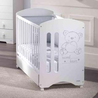 Micuna Baby Cot - with relax system (sweet bear)