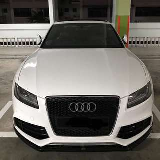 Maxton design front lip for A5 / S5 / RS5