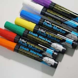 Artline Chalk Marker Set
