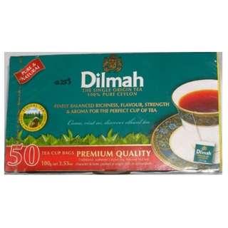 Dilmah Premium Quality Ceylon Tea 特級鍚蘭紅茶 50 茶包/盒. 新貨銷售中