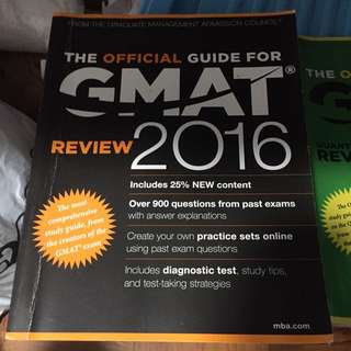 GMAT Official Guide 2016