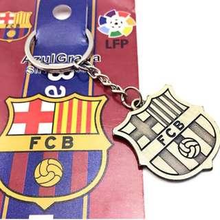 FCB BARCELONA KEYCHAIN FANCLUB FC BARCELONA KEYCHAIN