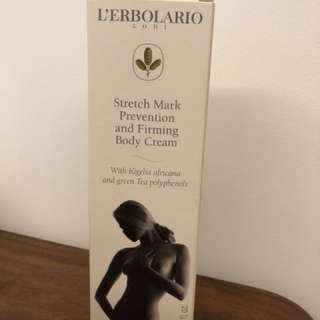 Stretch Mark Prevention and Firming Body Cream
