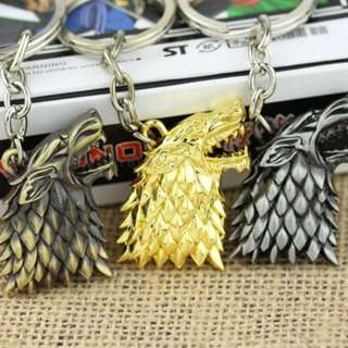 GAME OF THRONES KEYCHAIN GAME OF THRONES STARK WINTER IS COMING STARK