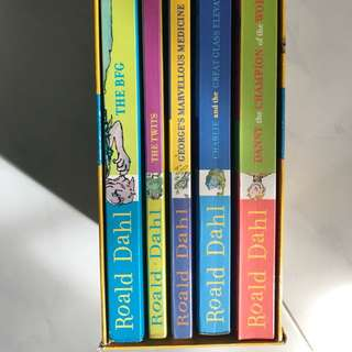 Roald Dahl bundle books