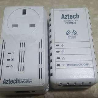 Used Aztech homeplug (one pair)
