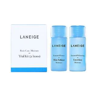 Laneige Basic Care Trial Kit