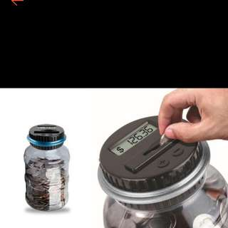Digital/ Electronic Coin Saving Jar