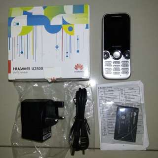Huawei U2800 3G hp baru full set