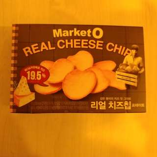 韓國熱賣 Market O 芝士薯片 Real Cheese Chip