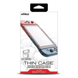 Nyko Thin Case for Nintendo Switch (Can Fit Into Dock)