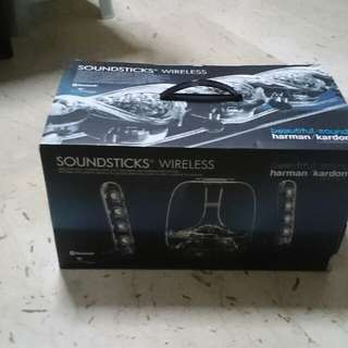 Harman Kardon Soundsticks wireless Bluetooth Speaker