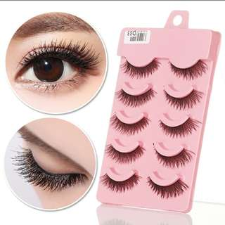 5 Pairs Of Eyelashes[PO]