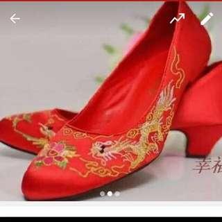 結婚褂鞋40碼