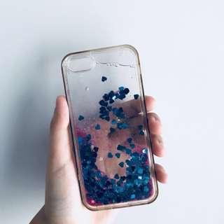 GLITTER HARD JELLY CASE (iphone5/5s)