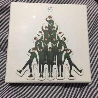 EXO 12月的奇蹟專輯韓版