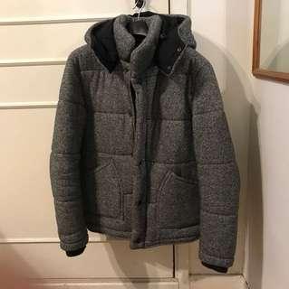 Men - Grey Jacket, M size (Made in Korea)