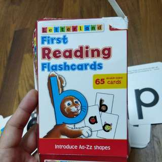Letterland first reading flash cards