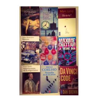 French books  ( the below price per book)