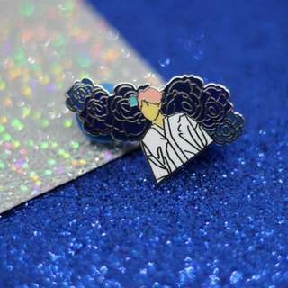 Namjoon enamel pins from TheMonsturPlaza