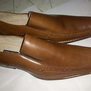 Stacy Adams Brown Leather Shoes