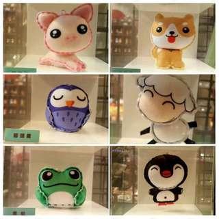BN DIY Soft Toy Postcard #huat50sale
