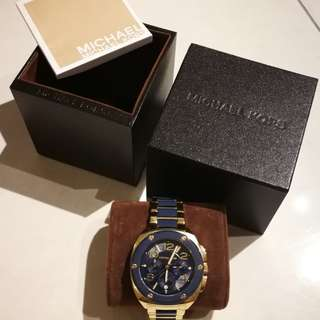 Michael Kors Two-Tone Tribeca Watch
