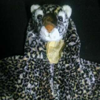Onesie Cheetah costume