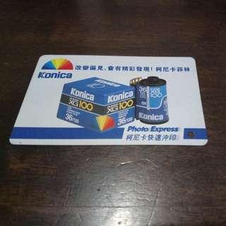 📣包郵📮車票~$70通用儲值 (Konica)