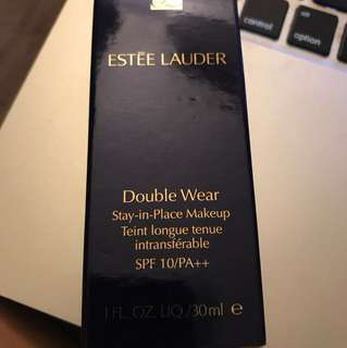Estee Lauder Double Wear Foundation1 w2 Sand