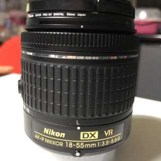 Nikon Len - AF P Nikkor 18-55mm