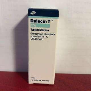 BN Dalacin T acne pimple antibiotic solution 10ml. Travel size