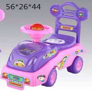 Violet Mini Car with Lights & Sounds for Baby