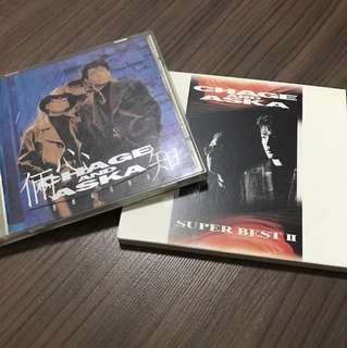 2 CHAGE & ASKA CD (All for $12)