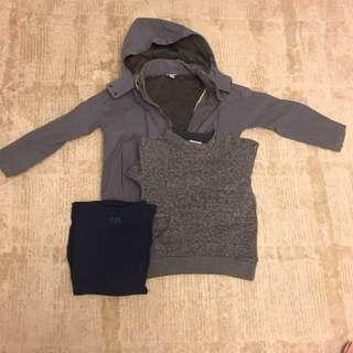 TALC sweatshirt + COS Jacket + epi T shirt