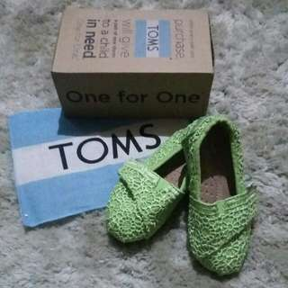 Toms Lime Crochet 6C