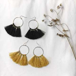 Geraldine Tassel Earrings