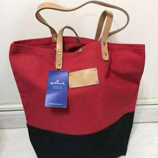 Hallmark 環保袋 紅黑色
