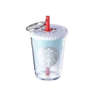 Starbucks Korea Snowman Coldcup Keychain