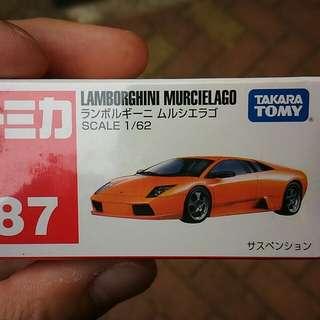 Tomica Tomy No.87 Lamborghini Murcielago 全新未開膠 #mayflashsale