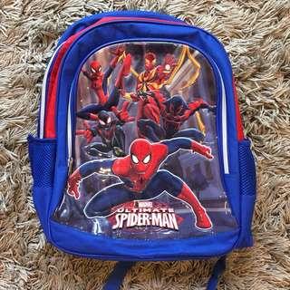 KIDS SPIDERMAN BACKPACK SCHOOL BAG
