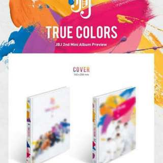 [PRE-ORDER] JBJ TRUE COLORS ALBUM