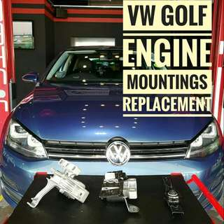 Volkswagen Golf:  Engine Mountings Replacement