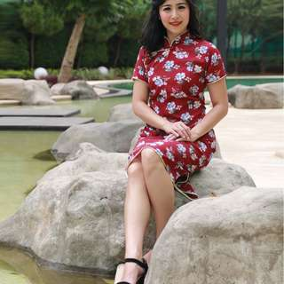 HANA CHEONGSAM DRESS
