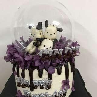 水晶球情人節蛋糕