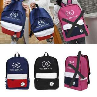 Exo korean bagpack