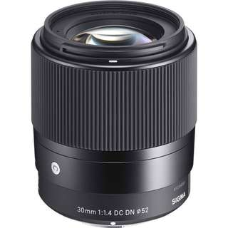 Looking for Sigma 30mm f1.4 e-mount
